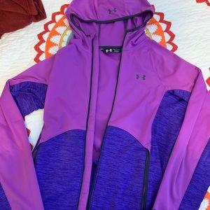 Under armor zip up jacket